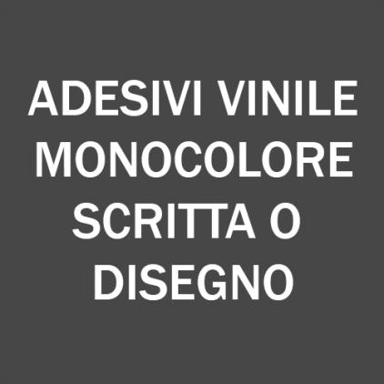 adesivi vinile monocolore