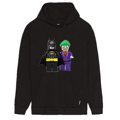 Felpa Lego Batman e Joker
