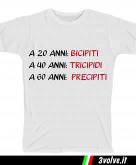 T-shirt 20 anni Bicipiti