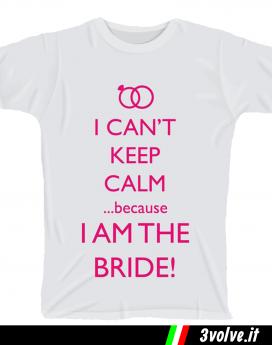 T-shirt Keep Calm team bride