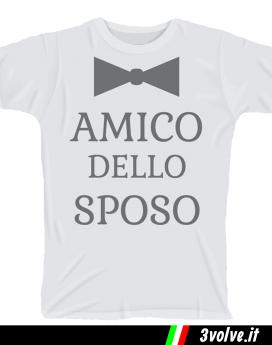 T-shirt Amico dello Sposo