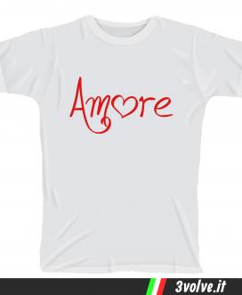 T-shirt Amore
