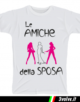 T-shirt Le amiche della sposa