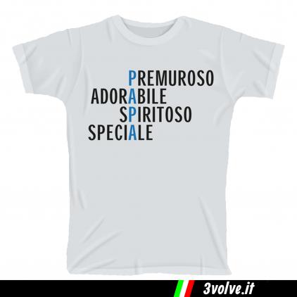 T-shirt Papà premuroso adorabile