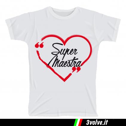 T-shirt Super Maestra