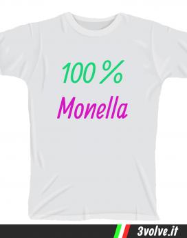 T-shirt 100 per 100 monella