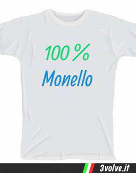 T-shirt 100 per 100 monello