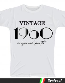T-shirt 1950 Vintage original parts