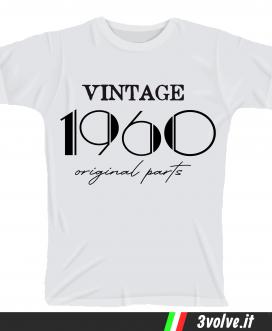T-shirt 1960 Vintage original parts