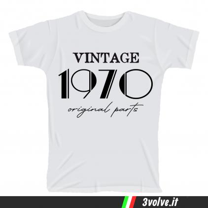 T-shirt 1970 Vintage original parts