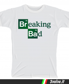 T-shirt Breaking Bad serie tv