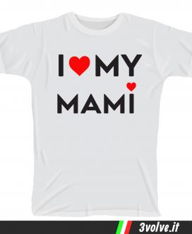 T-shirt I love my mami