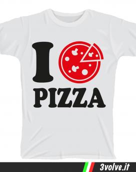 T-shirt I love pizza