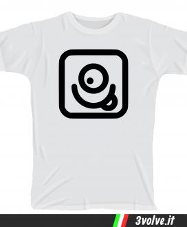 T-shirt Instagram smile