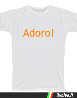 T-shirt Adoro