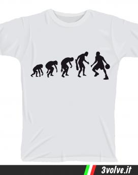 T-shirt Evolution Basket