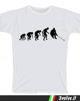 T-shirt Evolution Hochey