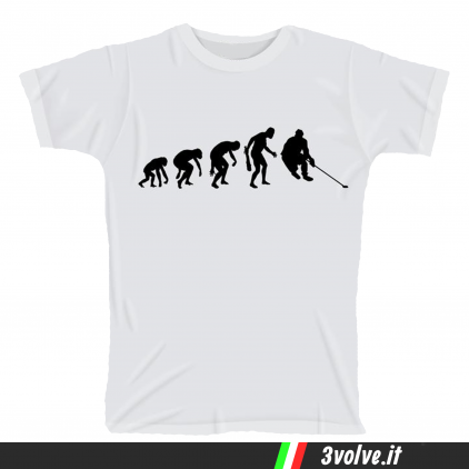 T-shirt Evolution Hochey
