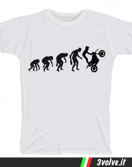T-shirt Evolution Moto Cross
