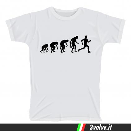 T-shirt Evolution Runner