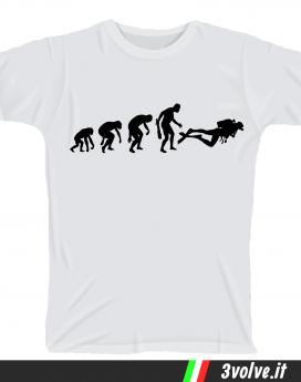 T-shirt Evolution Sub