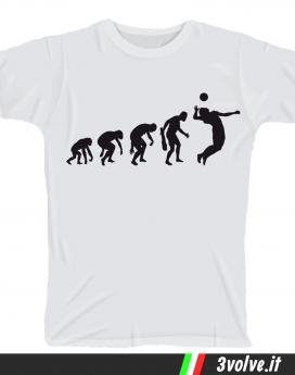 T-shirt Evolution Pallavolo