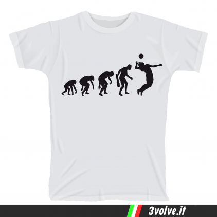 T-shirt Evolution Pallavolo