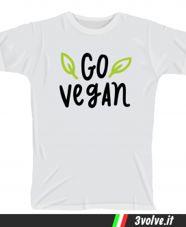 T-shirt go vegan