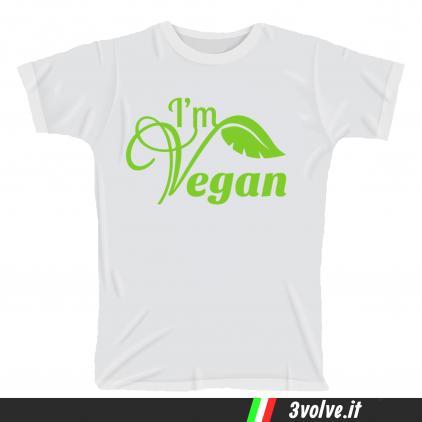 T-shirt Io sono vegan