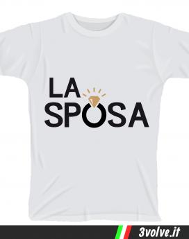 T-shirt La sposa
